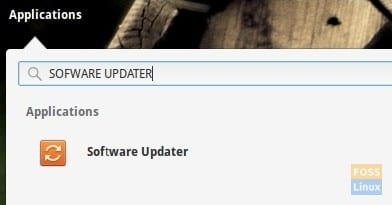 Launch Software Updater
