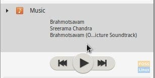Music Player Compact Mode