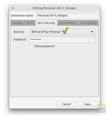 Wi-Fi Security Settings