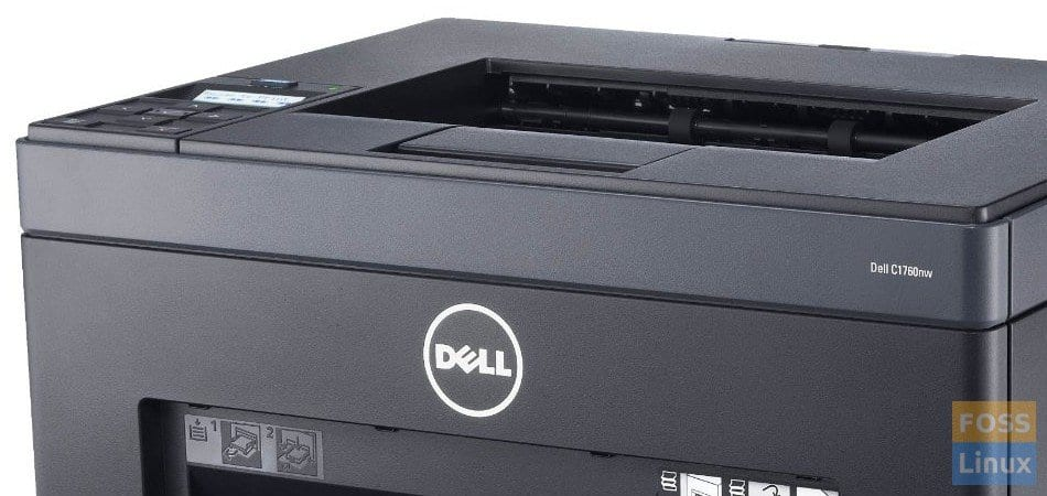 How to make Dell C1760nw Color Laser Printer work on Linux Mint