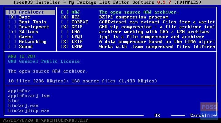 FreeDOS 1 2 brings back the glory of MS-DOS