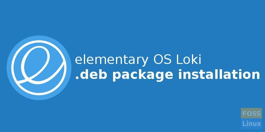 Install deb packages in elementary OS Loki