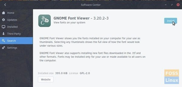 How to install Microsoft TrueType Fonts in Solus - FOSS Linux