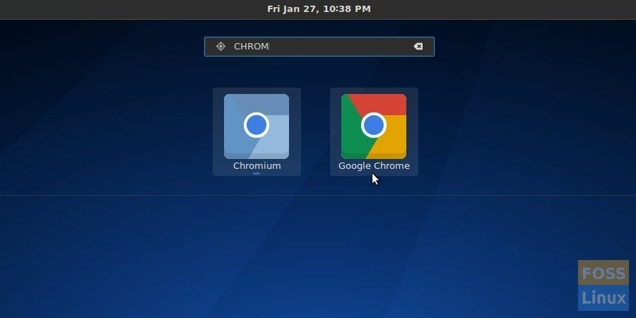 Install Google Chrome in Antergos