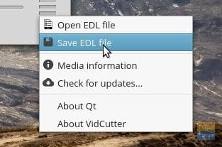 Import/Export EDL Files
