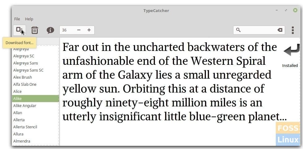 How to install Google Fonts in Ubuntu, Linux Mint, and