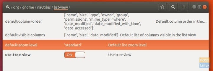 Enable Tree View