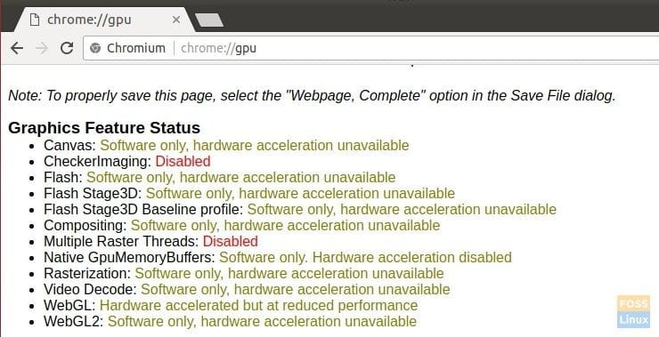 Software only acceleration