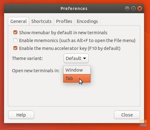 How to Enable Tabs in Ubuntu Terminal - FOSS Linux