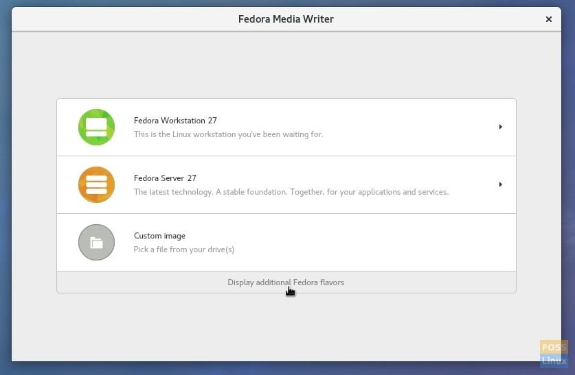 How to create a Fedora Games Live USB drive in Linux - FOSS Linux