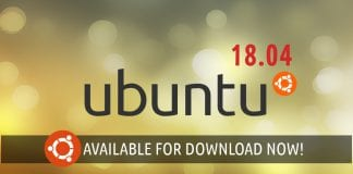Ubuntu 18.04 available for download
