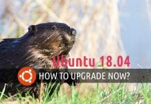 Upgrade to Ubuntu 18.04 now