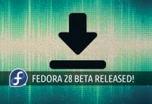 fedora 28 beta download