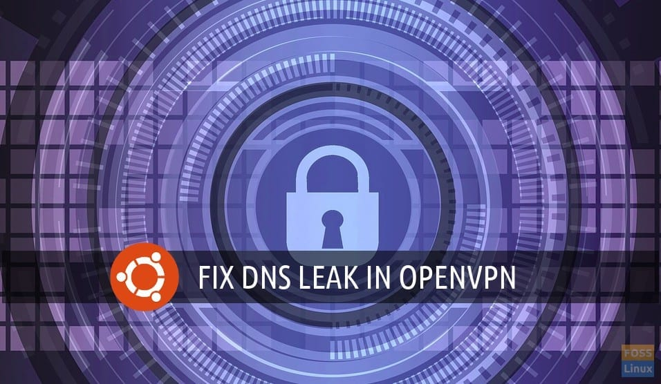 How to fix DNS leak issue with OpenVPN in Ubuntu - FOSS Linux