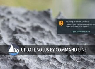 solus command line update