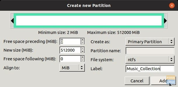How to safely create or resize partitions in Linux using GParted