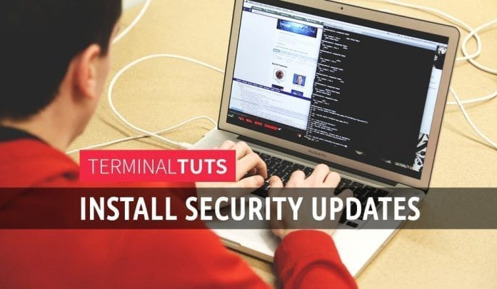 Installing security updates only