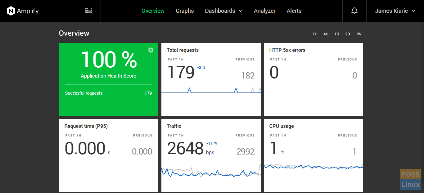 Nginx amplify overview