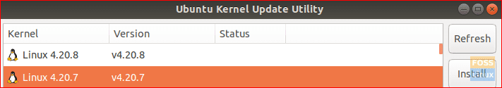 Select Kernel