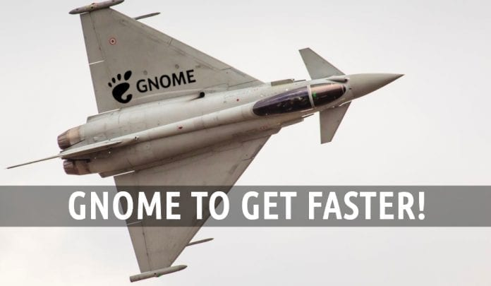 GNOME to get faster