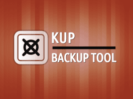 In this article, we're going to show a great backup tool named Kup. Kup is a part of the KDE software and only works on distributions that use KDE.