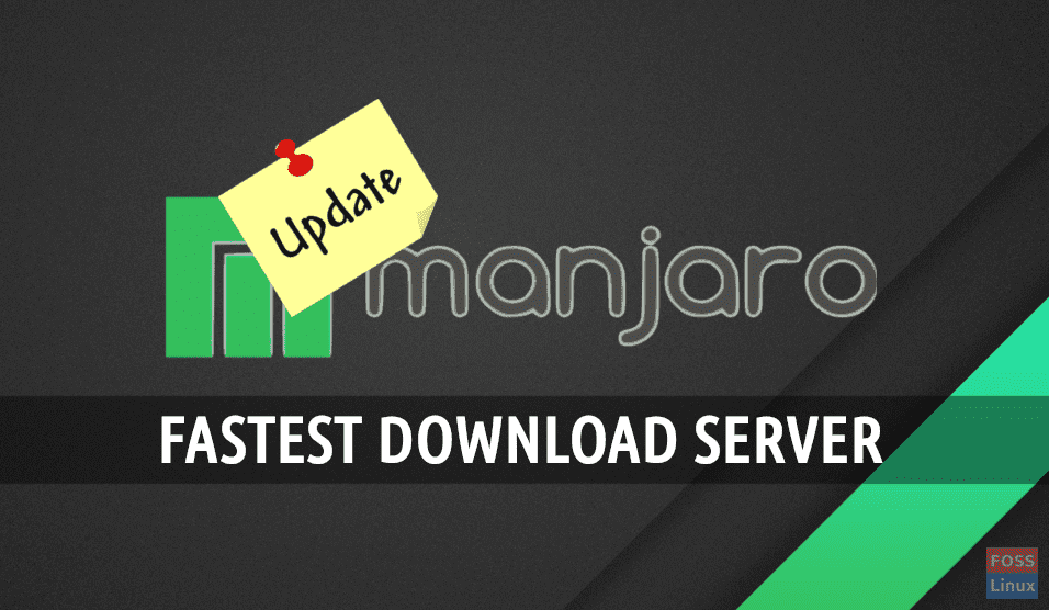 How to find mirror list and set fastest download server on
