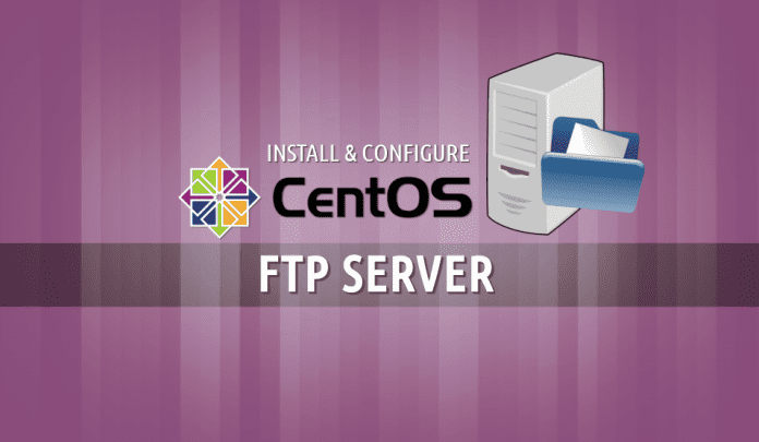 install and configure FTP server