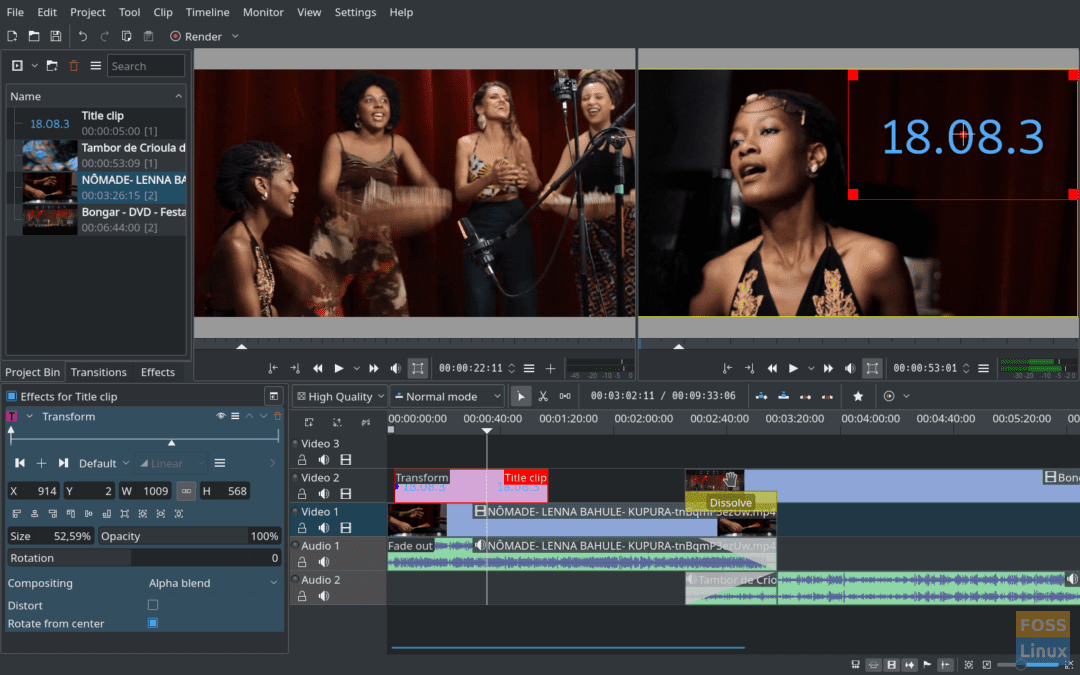 10 Best Linux Video Editing Software | FOSS Linux