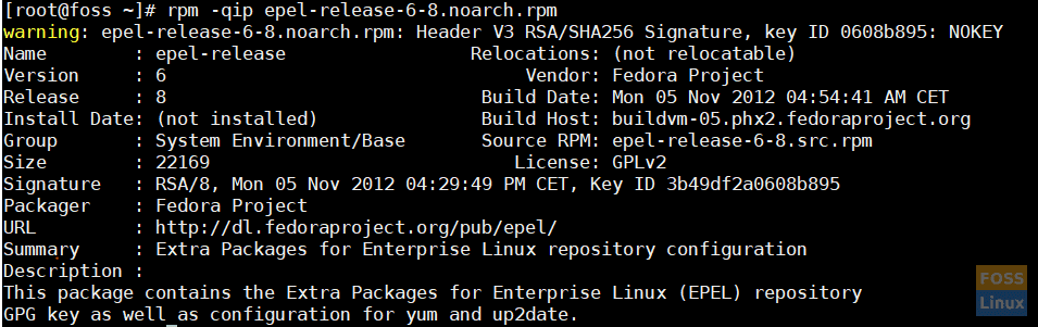 package-file-information