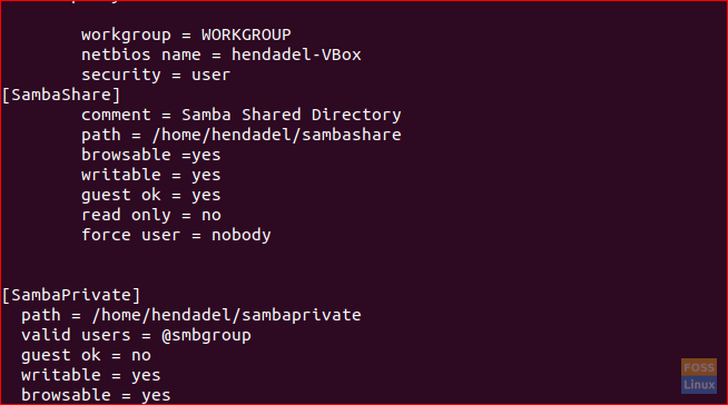 How to setup Samba File Sharing Server on Ubuntu - FOSS Linux