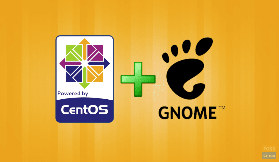 How to install GNOME GUI on CentOS minimal installation