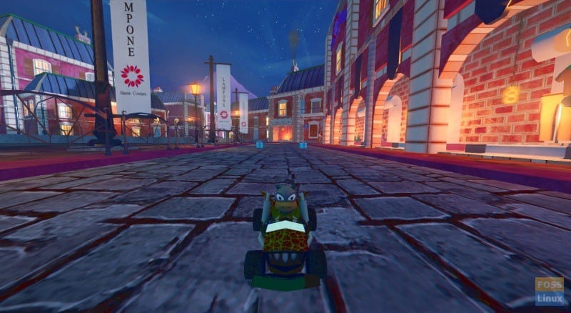 Supertuxkart Game Play