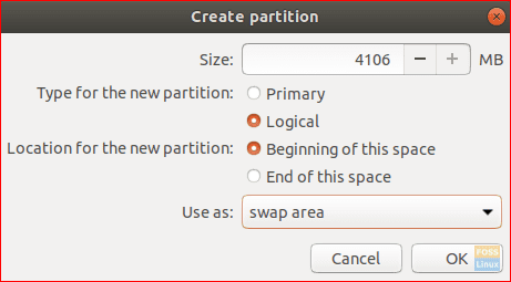 Swap Partition