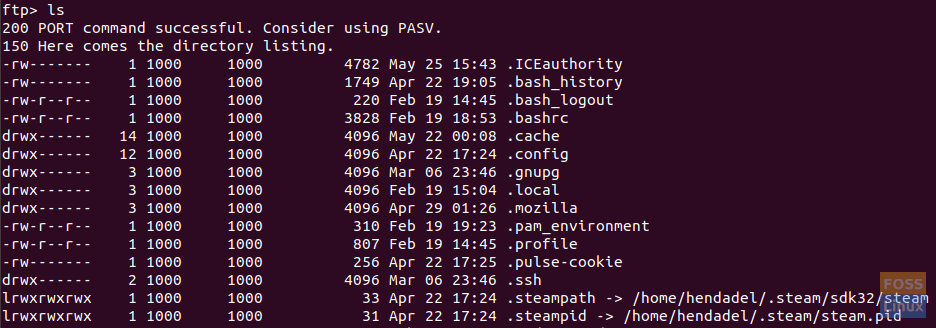 How to use FTP by command-line in Ubuntu - FOSS Linux