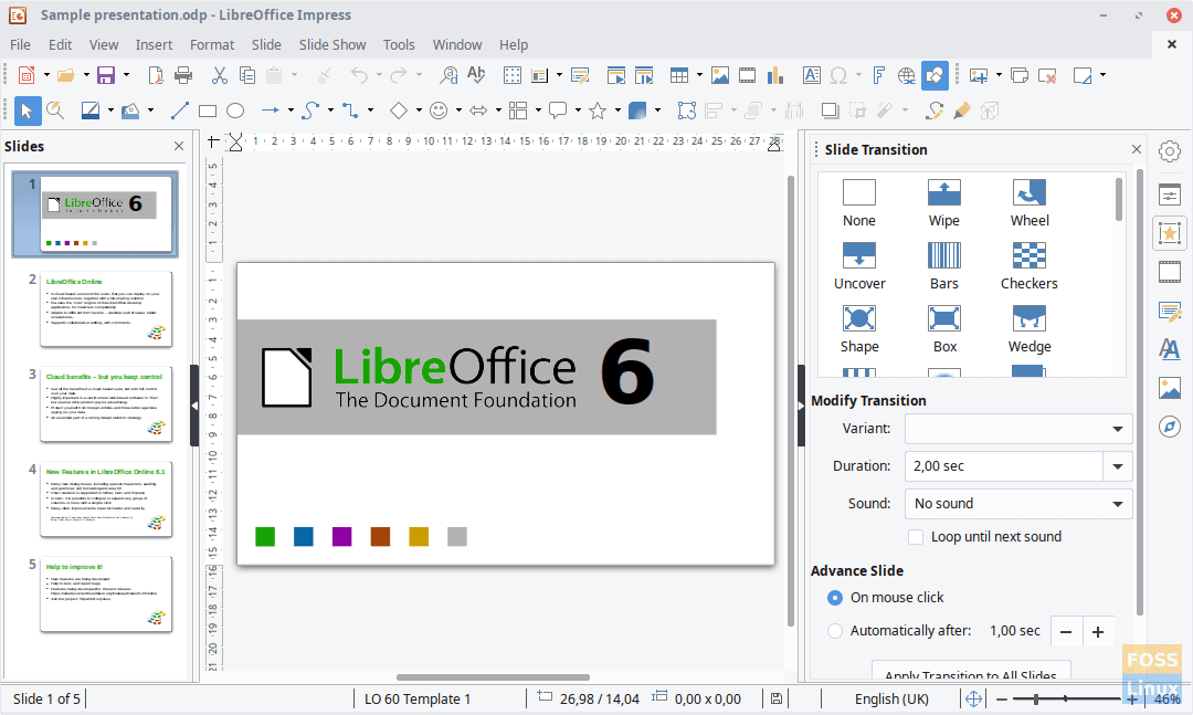 LibreOffice 6 2 5 is here with a lot of bug fixes, download