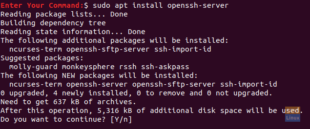Install The Open SSH Package On Ubuntu