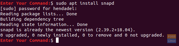 Install The snap Package