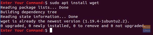 Install The wget Package