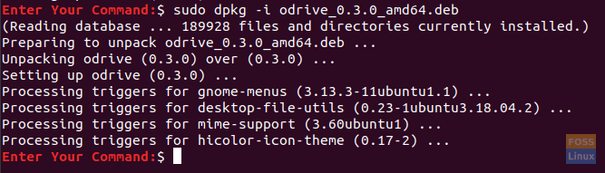 Load The Open Drive Using The dpkg Installer