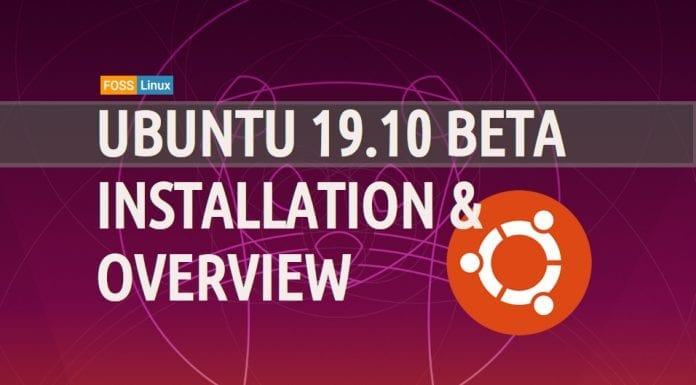 Ubuntu 19.10 beta overview