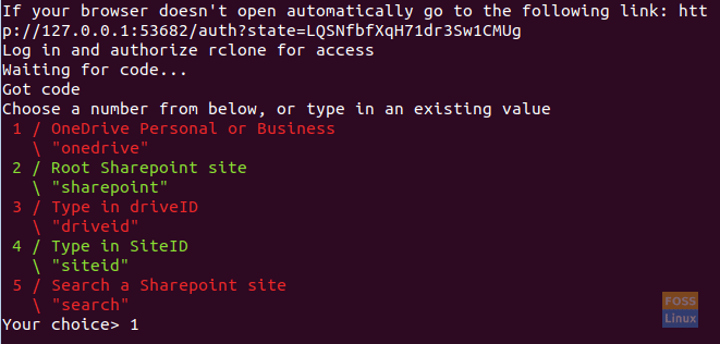 How to sync Microsoft OneDrive from command-line in Linux
