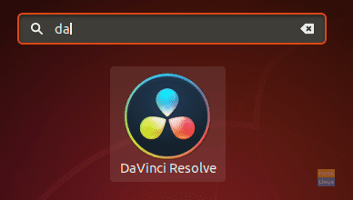 Open The DaVinci Resolve Software