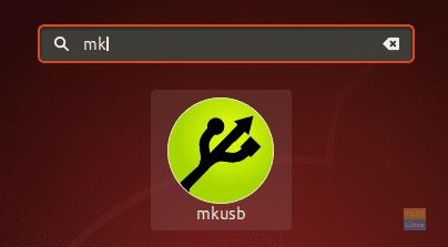 Search For The mkusb Application