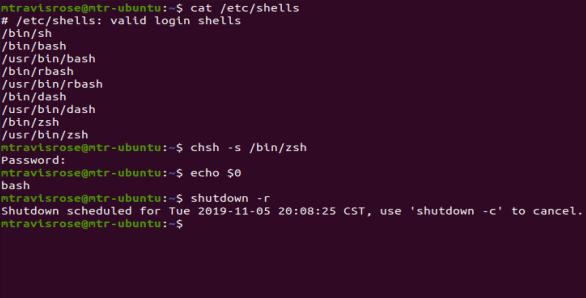 Set your default shell with the chsh command. Don't forget to reboot.